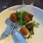 Salmon and Pollock Fishcakes with Secretts Salad