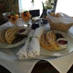 Breakfast! So delish!!!