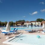 la belle piscine chauffée