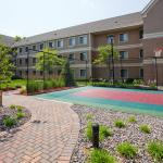 Guests can play a game of ball and be outdoors on our sport court.