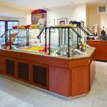 Breakfast Buffet and Evening Reception Area