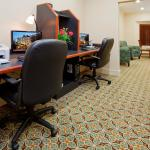 Stay connected with work or home in our Business Center