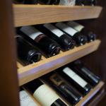 Large selection of international wines