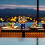 Dine with a view of the Olympic Mountains