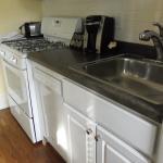 Full kitchenette