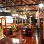 Restaurant at land bungalows side