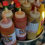 Tons of sauces