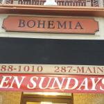 Bohemia Restaurant - Hackensack (Outside Sign)
