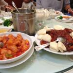 Sweet & sour fish and roast duck
