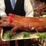 The whole roast pig