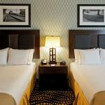 Weatherford Hotel Queen Bed Guest Room