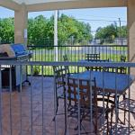 Barbecue with friends at our outdoor Gazebo Grill