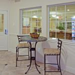 Kick back in our Candlewood Cupboard seating area