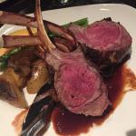 Rack of Lamb and New York Steak