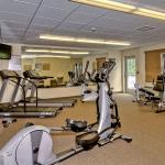24-hour spacious Fitness Center