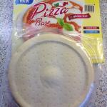 la pâte à pizza reçue