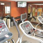 Fitness Center with Cardio plus Dumbbells