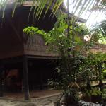 100-year-old Thai teakwood house