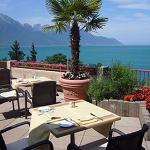 Terrasse Lac ,Alpes