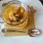 Zuppa con porcini e zucca