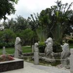 Внутренний парк отеля Ю Хай