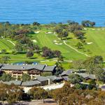 Lodge at Torrey Pines Aerial View