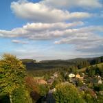 Sicht vom Hotel auf Altglashütten