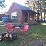 Cabin yard