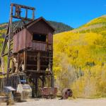Old mine on the Dolores Canyon road