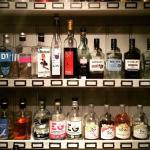 One section of one of the four walls. Gin.