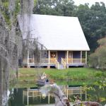 Chase's cottage overlooking original working pond