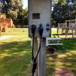 Power Post For Electric Hook-Up