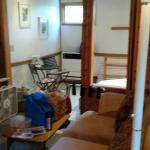 Cabin 4 . . . Very cozy with fireplace fridge and microwave. Easy walking distance to the center