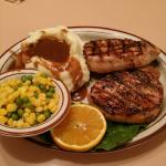 Thick cut pork chops