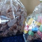 Chocolate Covered Gummy Bears & Candy Blocks