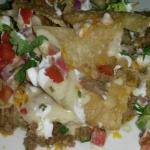 Tuscan Nachos.  Good food.