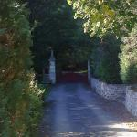 Le Moulin de Fresquet - le portail d'entrée.