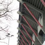 Eindrücke vom Stadion.