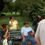 Learning about the trees of Lalbagh Gardens