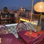 2 eme terrace  cafe  guerrab marrakech