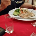 Cena familiar con mis tíos panameños. Deliciosa la cena y los mariscos fresco y riquísimo
