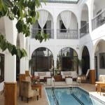Patio du Riad Utopia Suites & Spa