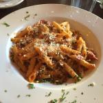 Penne pasta Salsiccia