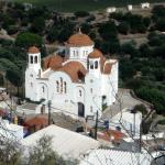 Kritsa un des plus beaux villages de Crète (l'église)