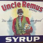 Uncle Remus tin sign
