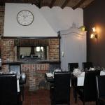 Côté restaurant (feu de bois)