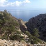 Start of gorge walk