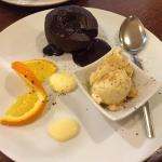 Chocolate fondant..yum yum!