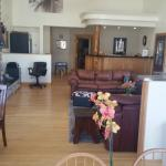 Fabulous new lobby Sundance Motel Pinedale WY 2015