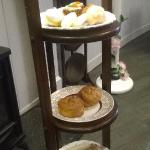 At Lady Lavender Tea Rooms